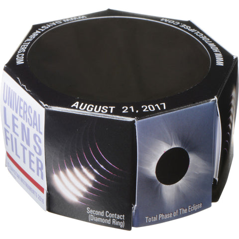 DayStar Filters 70mm White-Light Universal Lens Solar Filter (2-Pack, 65-89mm OD)