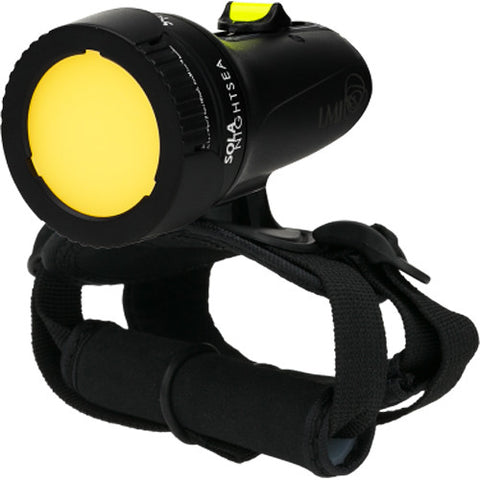 Light & Motion Sola NightSea LED Dive Light (Black, US)