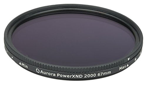 Aurora Aperture PXND2K-67 Powerxnd 2000 Variable ND Filter Fader, 67 mm