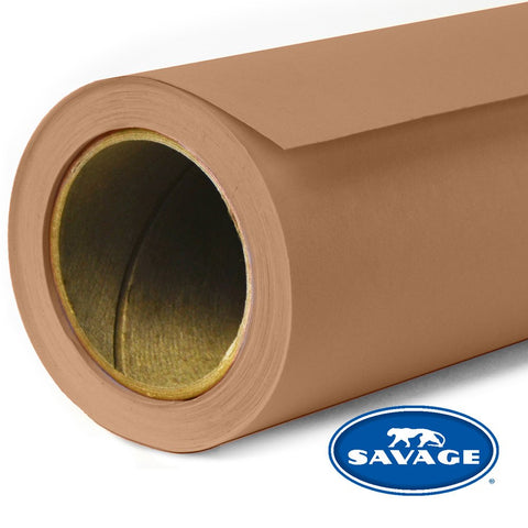 Savage Seamless Background Paper - #76 Mocha (53 in x 18 ft)