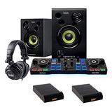Hercules DJ Starter Kit with (2) IP-S Isolation Pad (Small, Single) Bundle