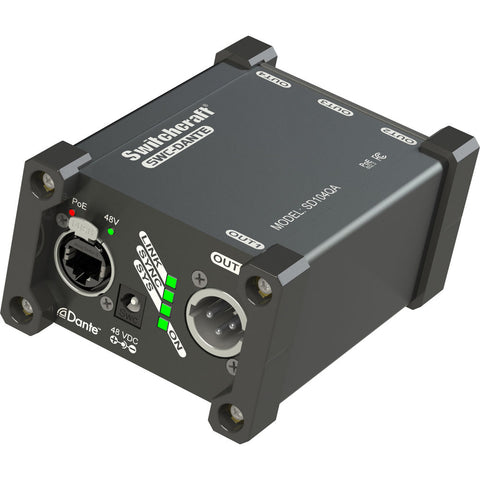 Switchcraft 4-Channel Dante SD104QA Output Box