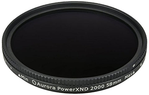 Aurora Aperture PXND2K-58 PowerXND 2000 Variable ND Filter Fader, 58 mm
