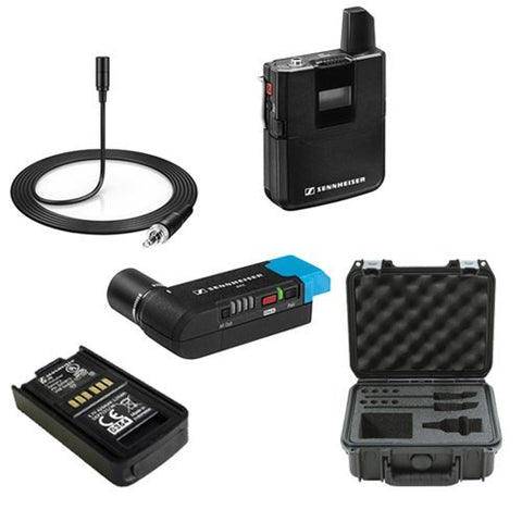 Sennheiser AVX Camera-Mountable Lavalier Pro Digital Wireless Set Bundle