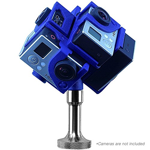 360Heros Pro6 360° Plug-n-Play Holder for GoPro with Mount/Stand