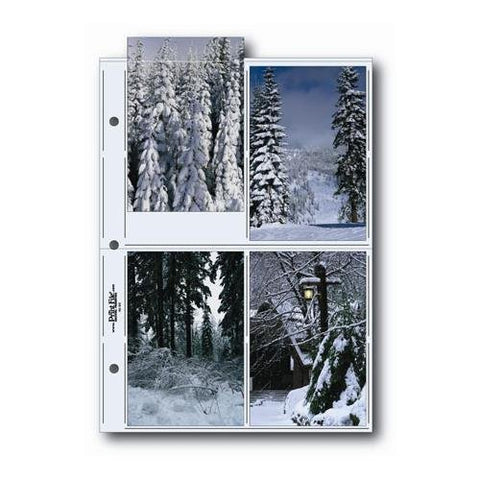 Printfile G Pages 25-pack Holds 4X6 Prints - Printfile 468G