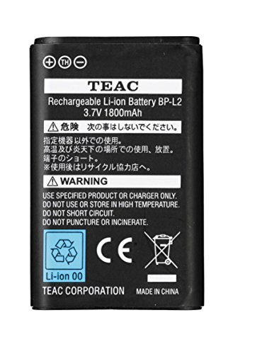 Tascam BPL2 rechargable battery for DR-1 and DR-100 recorders