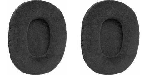 Velour Padded Earcushions for Audio Technica Athm30, Sony Mdr7506 and V6 (Pair)