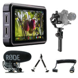 Atomos Ninja V Filmmaker Kit with Moza Air 2 & Rode VideoMic Pro Bundle