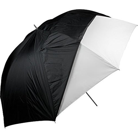 "Westcott 60"" Optical White Satin Umbrella with Removable Black Cover"
