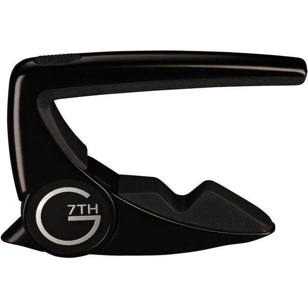 G7th Performance 2 Capo for Steel String Guitar (Black)
