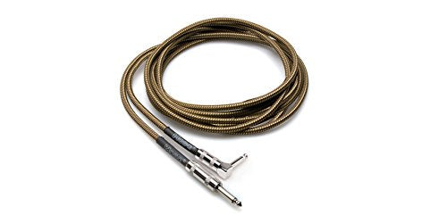 HOSA GTR-518RT 18 Foot Traditional Guitar Cable with Tweed Jacket