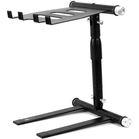 Digistand LPT01 Folding DJ Laptop Stand (Black)