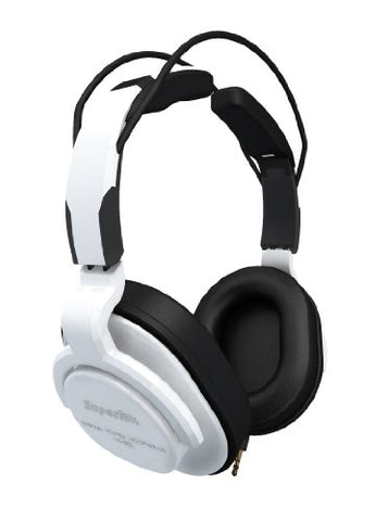 Superlux Closed-Back Professional Headphone w/ Detachable Straight Cables White