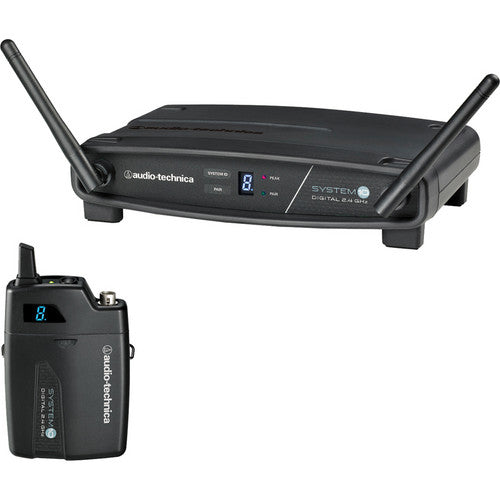 Audio-Technica ATW-1101 System 10 Digital Wireless Receiver and Pocket Transmitter