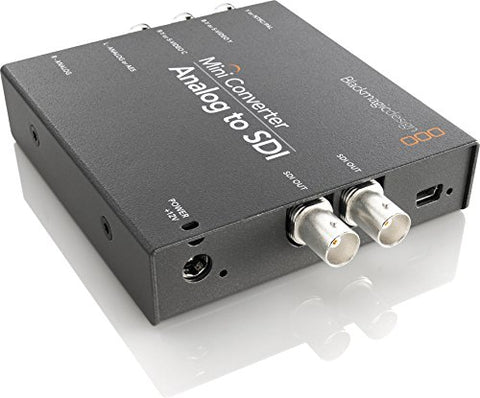 Blackmagic Design Mini Converter Analog to SDI with Embedded Audio