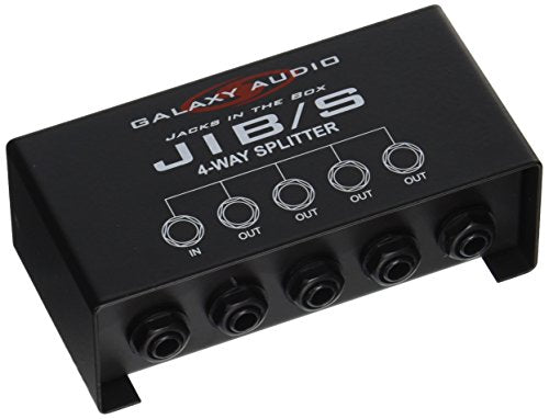 "Galaxy Audio JIBS 4 Way 1/4"" Splitter"