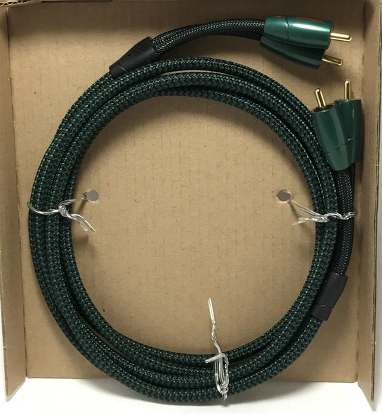 AudioQuest Evergreen RCA to RCA Cable (3.2')