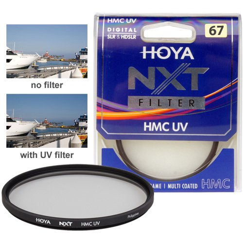 Hoya 67mm NXT HMC UV Multi Coated Slim Frame Glass Filter