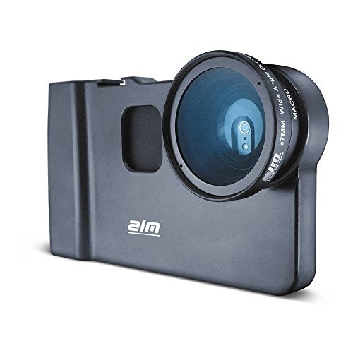 ALM mCAMLITE Starter Kit for iPhone 6, 37mm Wide Angle/Macro Combo Lens