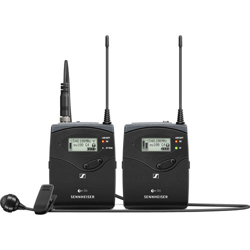 Sennheiser ew 122P G4 Camera-Mount Wireless Microphone System with ME 4 Lavalier Mic A: (516 to 558 MHz)