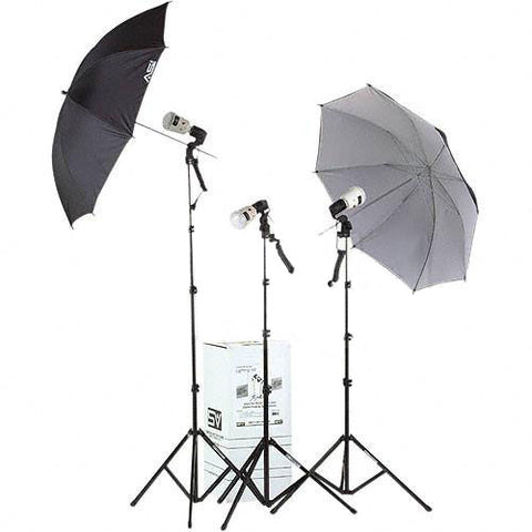 3-Light 135 watt second Thrifty location kit (2 - 45i)