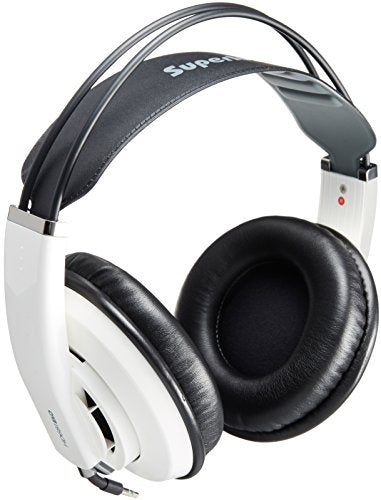 Superlux HD-681 EVO White Professional Monitor Headphones