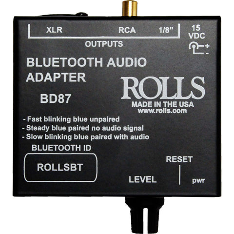 Rolls BD87 Bluetooth Audio Adapter