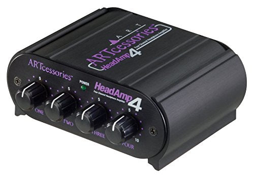 ART HeadAmp4 Four Channel Headphone Amplifier