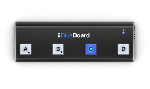 IK Multimedia IPIRIGBBRDIN iRig BlueBoard Wireless MIDI Pedalboard