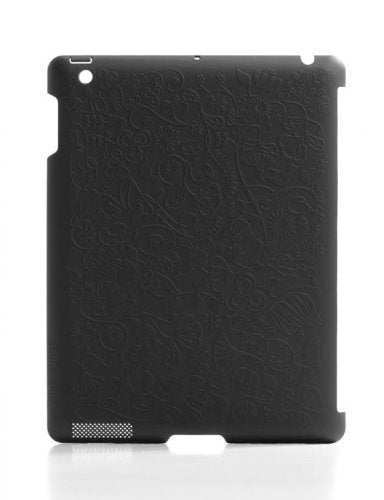 Blue Lounge Design Shell Flower Hard Case for iPad 2 (SL-2F-BL)