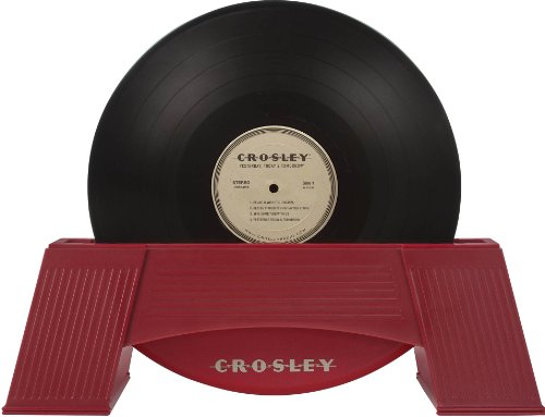 Crosley AC1001A-RE Vinyl Record Cleaner, Red