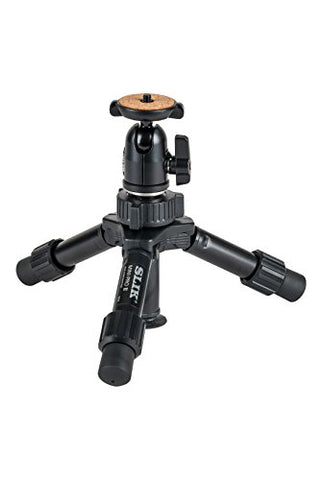 Slik Mini-Pro III Tabletop Travel Tripod
