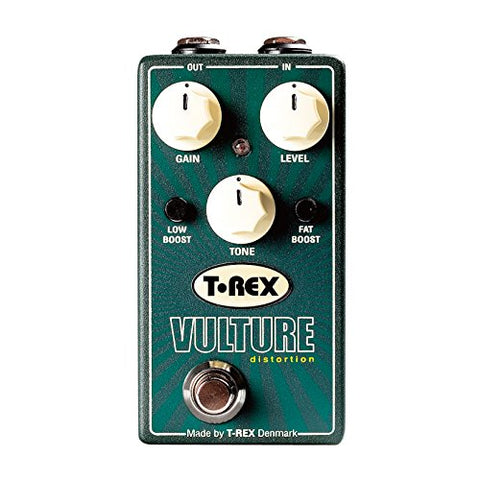T-Rex Engineering VULTURE Distortion Pedal with Low Boost and Fat Boost
