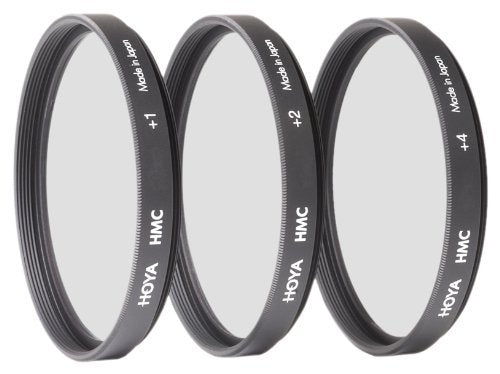 Hoya 46mm Close-up Multi-Coated Filter Set with +1, +2 & +4 Macro Lenses.