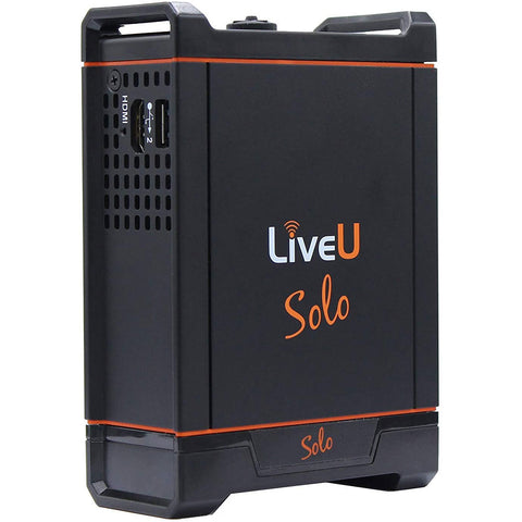 LiveU Solo Wireless Live Video Streaming Encoder for Facebook Live, Twitch, YouTube, and Twitter Live Video Streams