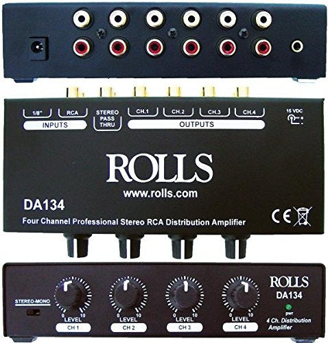 Rolls DA134 4-Channel Distribution Amp