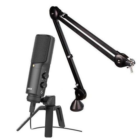 Rode NT-USB USB Microphone with Studio Boohttps://kellards.com/products/rode-nt-usb-usb-microphone-with-studio-boom-arm-for-broadcast-microphonesm Arm for Broadcast Microphones