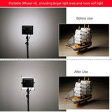 Aputure Easy Frost Diffuser Kit for Amaran AL-528 and HR672 LED Lights
