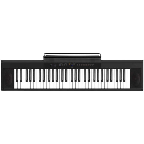 Artesia A-61 Digital Piano 61-Key (Black) with 8 Dynamic Voices (USB), Power Supply, Sustain Pedal & Bitwig studio 8 Track Bundle