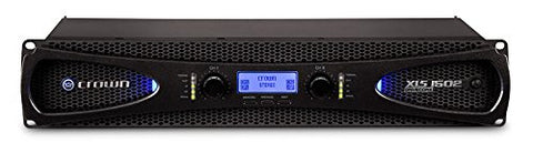 Crown Audio XLS 1502 Stereo Power Amplifier (525W at 4 Ohm)