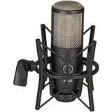 Motu M4 4x4 USB Audio Interface with AKG Project Studio P220 Condenser Mic, HPC-A30 Studio Monitor Headphones & XLR Cable Bundle