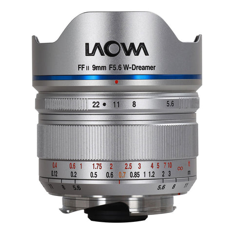 Venus Optics Laowa 9mm f/5.6 FF RL Lens for Leica M (Silver)