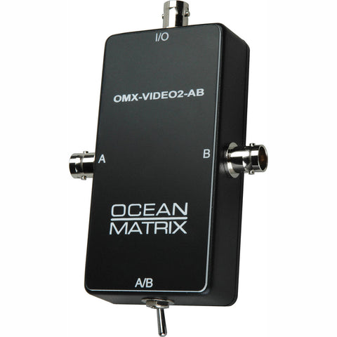 Ocean Matrix Composite Video BNC Input Expander Switch-by-Ocean Matrix