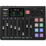 Rode RODECaster Pro Integrated Podcast Production Studio with SKB iSeries RODECaster Pro Podcast Mixer Case Bundle