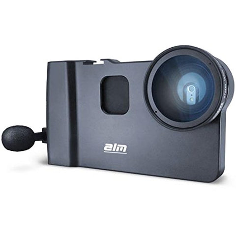 ALM mCAMLITE Stabilizer Mount with Video Lens & amp; Mic for iPhone 6/6S
