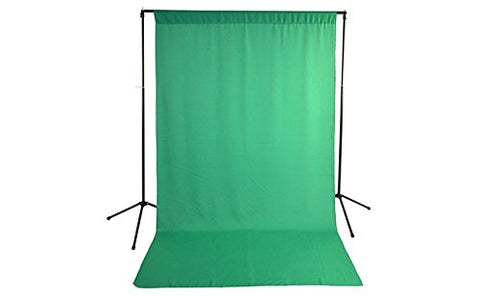Savage Economy Background Support Stand with Backdrop 5x9 ft - Green 59-9946