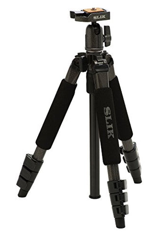 Slik Sprint Mini II GM 4-Section Tripod w/ SBH-100DQ Ballhead (Gunmetal)