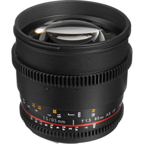 Bower 85mm T1.5 Cine Lens for Sony A