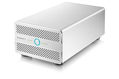 Akitio Thunder3 Duo Pro ( Thunderbolt3 - Enclosure Only) - WINDOWS ONLY : Currently not supported by Mac